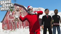 GTA 5 Kids: IS SANTA REAL? We Find Out! GTA 5 Kids Mod #8 | GTA 5 Mod Ga...