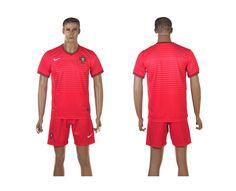 Portugal Home 2014 The World Cup Blank Red Football Shirt prices USD $19.50 #cheapjerseys #sportsjerseys #popular jerseys #NFL #MLB #NBA