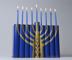 Creative Hanukah Menorah Made From Books re-pinned by: http://sunnydaypublishing.com/books/