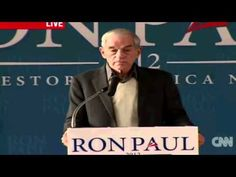Ron Paul Talks About SOPA And The NDAA Bill At N.H Airport Hanger Rally