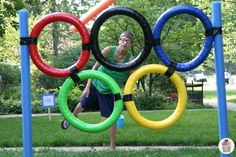 Harness your family's Olympic fever with these fun backyard activities inspired by sports at the Summer Games. olympic games 10 Backyard Games to Get Your Kids Excited About the Rio Olympics Olympic Games For Kids, Games For Teens, Olympic Idea, Olympic Flame, Kids Olympics, Summer Olympics, Special Olympics, 2020 Olympics, Globes