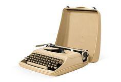 One Kings Lane - Maddie Sadofski - Sand-Colored Remington Typewriter