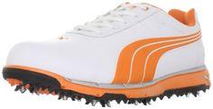 PUMA Men's Faas Trac Golf Shoe,White/Vibrant Orange,8 D US Puma,http://www.amazon.com/dp/B006OEGK4Q/ref=cm_sw_r_pi_dp_1wKVrb1E2B8C409A