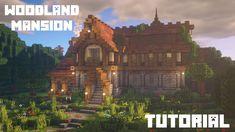 Big Minecraft Houses, Minecraft Bridges, Minecraft Cottage, Minecraft Plans, Minecraft Blueprints, Cool Minecraft, Minecraft Buildings, Minecraft Mansion Tutorial, Minecraft House Tutorials