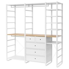 IKEA offers everything from living room furniture to mattresses and bedroom furniture so that you can design your life at home. Check out our furniture and home furnishings! Elvarli Ikea, Armoire Ikea, Ikea Wardrobe, Bamboo Shelf, Painted Drawers, Ikea Family, Affordable Furniture, Closet Bedroom, Closet Organization