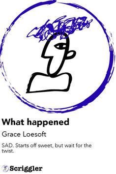 What happened by Grace Loesoft https://scriggler.com/detailPost/story/119473 SAD. Starts off sweet, but wait for the twist.