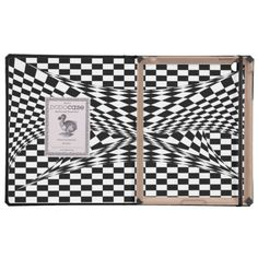 Twisted Checker DODOcase for iPad 2/3