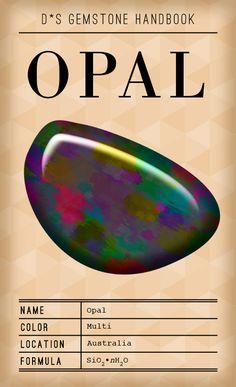 D*S Gem Handbook: The Opal