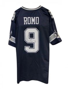 AAA Sports Memorabilia LLC - Tony Romo Dallas Cowboys Autographed Blue  Throwback Jersey 22e067218