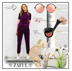 """Zaful"" by erina-salkic ❤ liked on Polyvore featuring ESSEY, Bobbi Brown Cosmetics and Matthew Williamson"
