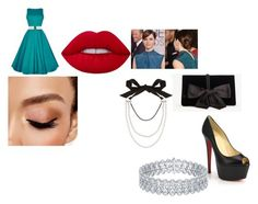 """""""Tonight's the night"""" by pepper2good4u on Polyvore featuring Ann Taylor, Avon, Lime Crime, Christian Louboutin and Lanvin"""