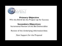 Video #3 in this Proposal Management Case Study is about establishing a Review & Approval process for the bid. The process by which you ensure a wining proposal and well structured project management framework.