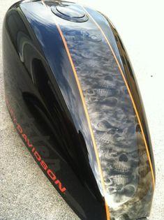 Custom Harley paint. www.chromefishcustoms.com… #harleydavidsoncustompaint