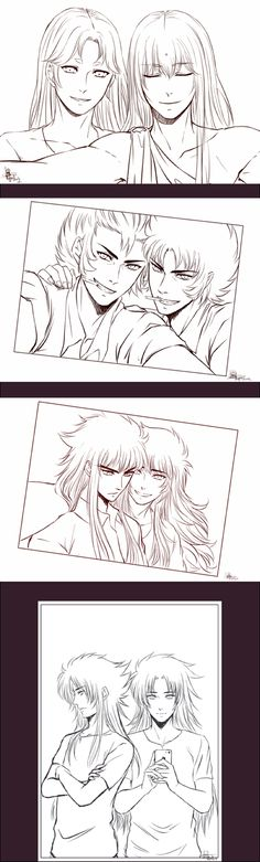 Gold Selfies - for french fanfic