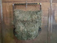 DIY slow feed hay feeder - large