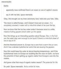 Life on Jupiter's moons?