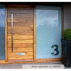 Modern Front Door Handles on Your First Impression Count With These Gorgeous Front Door Designs Wooden Front Doors, Front Door Entrance, The Doors, Glass Front Door, Types Of Doors, Sliding Glass Door, Entry Doors, Sliding Doors, Front Entry