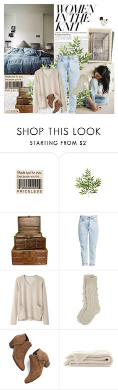 """""""Untitled #1563"""" by natza ❤ liked on Polyvore featuring n.d.c., H&M, Hope and Chelsea Crew"""