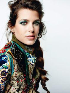 Charlotte Casiraghi by Mario Testino for Vogue Paris April 2015