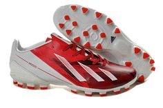 Best Adidas F50 Adizero Messi TRX AG SYN Soccer Cleats Sale Running White Red