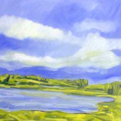Landscape #3 by Steven Miller, Painting - Oil | Zatista