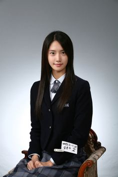 SNSD Yoona high school graduation photo
