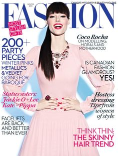 Coco Rocha Covers Fashion Winter 2013