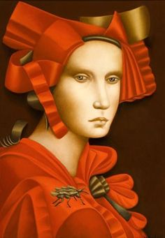 Tempera, Romanticism Artists, Olivia De Berardinis, Renaissance Fashion, Various Artists, Contemporary Artists, Magick, Portrait, Disney Characters