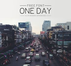 One day FREE font.  License: CC BY-ND 4.0. PERSONAL & COMMERCIAL USE. Pay with a tweet.