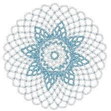 seed bead doily patterns - Google Search