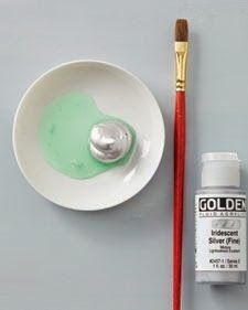 """""""Scratch-off""""paint (like on lottery tickets) - one part dish soap, two parts acrylic craft paint. who knew!?"""