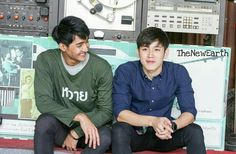 Thitipoom Techaapaikhun x Watthanasetsiri Pirapat | Earth | ฐิติภูมิ เดชะอภัยคุณ | New; นิว; New Thitipoom Techaapaikhun | Water Boyy the series