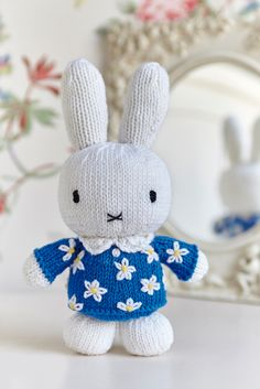 Knit this exclusive Miffy toy in issue 18 of Woman's Weekly