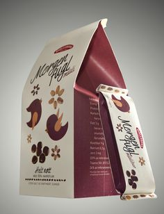 Müsli Packaging by Anna Johanson, via Behance