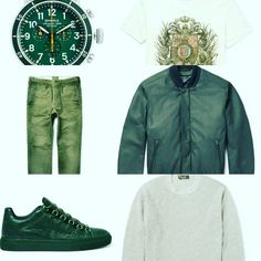 We hebben een mooie set samengesteld met de trends van deze zomer. #Groen is de kleur dit seizoen en de #musthaves zijn het #bomberjack en de #sneakers. Deze set heeft een verkoopprijs van  €8500,- Door merken als #Balenciaga #Brioni #Balmain en #LoroPiana. Vanavond geven we je een betaalbaar alternatief #staytuned