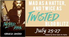 Twisted Pain  Release Blitz & Rafflecopter hosted by Once Upon An Alpha