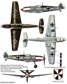 Messerschmitt Bf 109 E-4 Oberluetnant Franz Von Werra