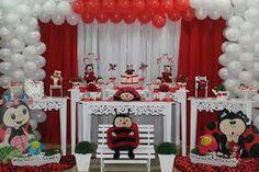 festa da joaninha decoração - Buscar con Google