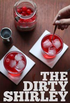 Stir & Scribble: Thirsty Thursday | Dirty Shirley