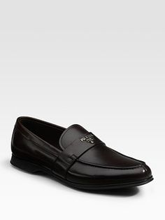 Prada Logo Loafers