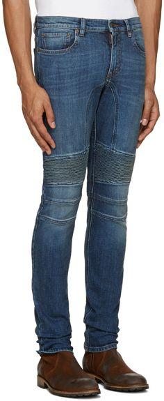 e531a68dd Belstaff - Blue Skinny Biker Jeans Skinny Biker Jeans