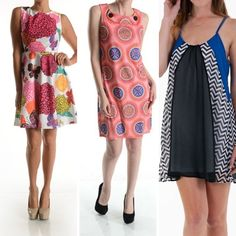 Look at all these cute spring dresses HERE now at Salice!!! We have received over 30 boxes of new inventory JUST this week!! Come see us! Fri/Sat special ~ Draw your discount, save up to 35% off!! We're open 9-7 on Friday!