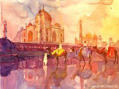 Taj Mahal by takmaj.deviantart.com on @deviantART