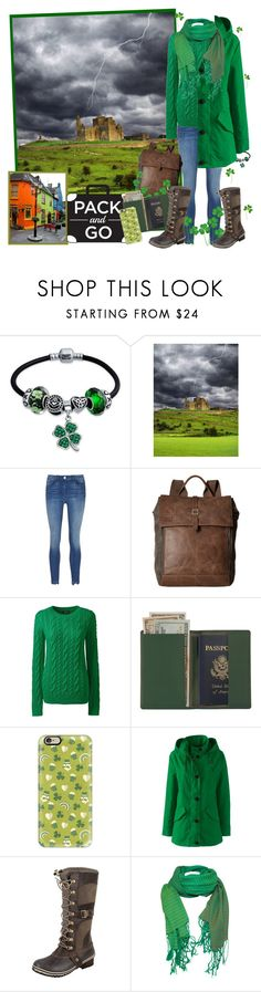 """""""The Pipes, The Pipes are calling ..."""" by krusie ❤ liked on Polyvore featuring Bling Jewelry, TOMS, Lands' End, Royce Leather, Casetify, SOREL and J. Furmani"""