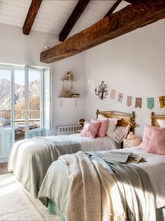 Cute Bedroom Ideas, Awesome Bedrooms, Brothers Room, Boy Girl Bedroom, Minimalist Bedroom, Dream Rooms, New Room, Room Inspiration, Decoration