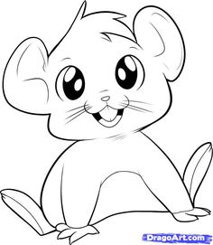 How to draw mice - Hundreds of drawing tuts on this site
