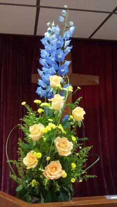 教會插花, flower arrangement