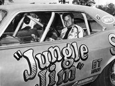 Jungle Jim Lieberman and jungle Pam are iconic in the world of drag racing and today we're going to tell you why. Funny Car Drag Racing, Nhra Drag Racing, Funny Cars, Auto Racing, Jungle Jim Liberman, Pam Hardy, Custom Pickup Trucks, Jungle Jim's, Grid Girls