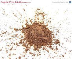 60% OFF SALE Bronze Shimmer Eye Shadow - Vegan Mineral Makeup Eyeshadow