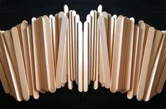 Stik Es Krim Popsicle Stick Crafts For Adults, Popsicle Sticks, Craft Stick Crafts, Diy And Crafts, Ice Cream Stick Craft, Popsicles, Handmade, Pallets, Hand Made